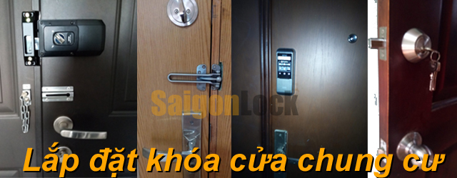 lắp đặt khóa cửa chung cư