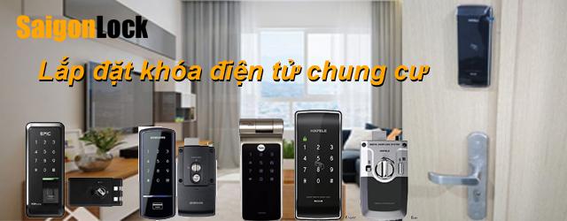 lắp đặt khóa điện tử chung cư