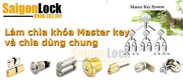 làm chìa khóa master ket chìa dùng chung